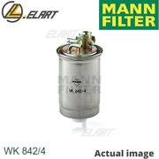Fuel Filter For Vw,seat Polo,86c,80,mn,1w,golf Ii,19e,1g1 Mann-filter Wk 842/4