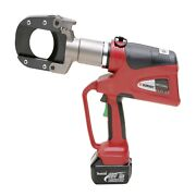 Burndy Patcut245-li Battery Actuated 6-ton Cutting Tool 18v Lithium-ion W/case
