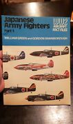 Wwii Japanese Army Fighter Plane Book Aircraft Fack Files Collectible