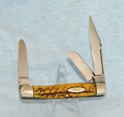 Rare Vintage Case Xx Stag Stockman Knife 5375 Lp 1940-64 Book 1500.00 Long Pull