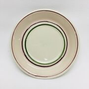 Hartstone Pottery Early Romance Saucer Side Plate Tulip Flower Pink Blue