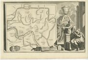 Antique Map Of Ancient Rome By Goeree C.1704