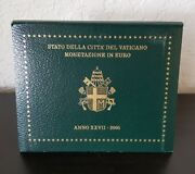 Vatican Brilliant Uncirculated 8 Coins Annual Coin Set 2005 In Blister