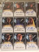 X-men The Movie And X2 United - Topps Trading Card Sets + Extras Autographs