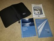 2002 Ford Thunderbird Convertible Owner Ownerand039s Operator Manual Set 3.9l V8