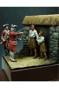 English Soldiers After Battle Of Culloden Tin Painted Toy Soldier Pre-sale |art
