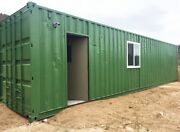 Shipping Container Workshop / Studio / Office / Wine Cellar