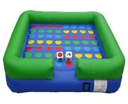 Pogo Kids - Twister - Interactive Inflatable Game With Blower Big Dice And Stakes