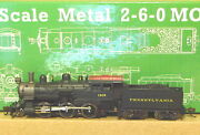 N Scale Metal Usra 2-6-0 Mogul Prr, Dcc And Sound Equipped Model Power 876081
