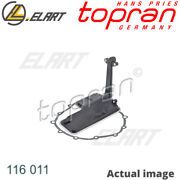 Automatic Transmission Hydraulic Filter Set For Audi Clab Claa Chva Cgxb Topran