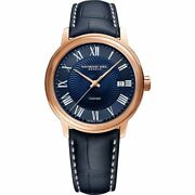 Raymond Weil Maestro Automatic Blue Dial Menand039s Watch 2237-pc5-00508