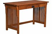 48 Amish Royal Mission Writing Secretary Desk Home Office Solid Wood Furniture