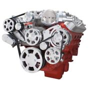 Chevy Lsa And Ls9 Serpentine Kit - Ac, Alternator And Power Steering