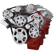 Chevy Lsa And Ls9 Serpentine Kit - Power Steering And Alternator