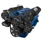 Black Diamond Serpentine System For 289 302 And 351w Power Steering And Alternator