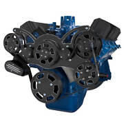 Black Diamond Serpentine System For Ford Fe Engines Power Steering And Alternator