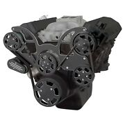 Black Diamond Serpentine System For 396, 427 And 454 - Power Steering And Alternator