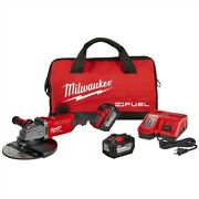 Milwaukee 2785-22hd M18 Fuel 7 In / 9 In Large Angle Grinder 2 Battery