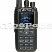 Anytone At-d878uv Vhf/uhf 140-174/400-480 Mhz Dmr Handheld Transceiver With Gps