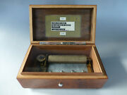 Antique Thorens Pre Reuge Music Box 72 / 4 Plays Home Sweet Home And More
