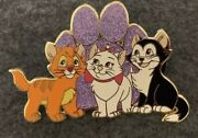 Disney Fantasy Pin Le /50 Marie Figaro Oliver Cats Paws And Claws Aristocats