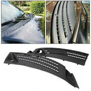 For 04-08 Ford F-150 Outer Right And Left Windshield Window Wiper Cowl Cover Panel