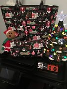 Disney 2018 Dooney And Bourke Christmas Holiday Tote And Wristlet/wallet Set Nwts