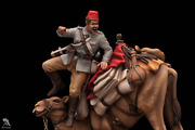 Camel Corps At Battle Of Abu Klea Sudan Tin Painted Toy Soldier Pre-sale   Art
