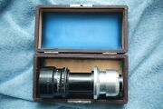 C Mount Adapted Jgb Dallmeyer 6in F3.5 Telephoto 132668 Amazing Glass Cond