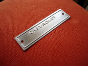Chevrolet Chevy 1953 -1963 Data Plate Id Tag With 1/8 Holes Polished