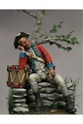 American Drummer Of Continental Army Tin Painted Toy Soldier Pre-sale   Art