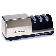 New Chefand039s Choice Pro Commercial 2100 Electric Knife Sharpener Aust Stock