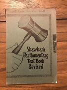Shawhanand039s Parliamentary Text Book Revised 1933