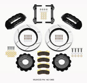 Wilwood Tx6r Front Kit 15.50in Black 2010-up For Ford For F150 6 Lug - Wil140-