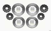 Wilwood Rotor Kit Front/rear-drilled 2005-2013 Aston Martin - Wil140-13106