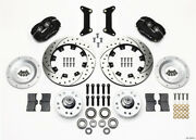 Wilwood Forged Dynalite Front Kit 12.19in Drilled 79-87 Gm G Body - Wil140-12297