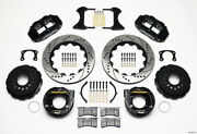 Wilwood Narrow Superlite 4r Rear P-brk Kit 14.00in Drilled New Big For Ford 2.50