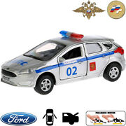 Diecast Metal Model Car Ford Focus Russian Police Toy Die-cast Cars
