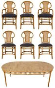 Rattan Table And Chair Set By Willow And Reed 57870