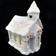 Sugar Town Chapel By Precious Moments New In Box Lights Up