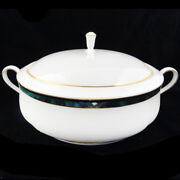 Kelly By Lenox Covered Vegetable Bowl 9.25 Bone China Made Usa New Never Used