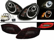 Cayman 987 05-08 Hid Headlights Assembly + Led Tail Lights V1 For Porsche Lhd