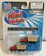 Classic Metal Works 50371 Ford Refrig. Delivery Trucks Schafer Beer N Scale