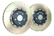 Platz1 360mm Front+rear 2pc Floating Brake Discs Upgrade For Benz W205 C63/s Amg