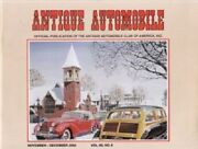 Antique Automobile November-december 2002--buick, Cadillac, Dodge, Ford, Packard