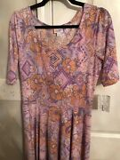 Brand New With Tags Size Large Nicole Made In Vietnam Floral Multi Colored