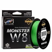 500m/546yds W8 Braided Fishing Lines Weaves Wire Smooth Pe Multi Filament Line