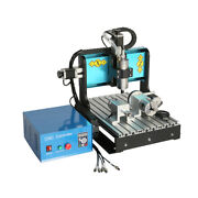 Nzl 110v 800w 4 Axis Cnc 3040 Router Engraving Milling Machine Parallel Port