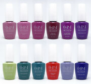 Opi Tokyo Collection Gelcolor Gel Polish - Base And Top Coat - Choose Any - 0.5 Oz