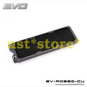 For Evo Ev-rd360-cu 360 Copper Water Cold Row Heat Exchanger Heat Sink Cold Row